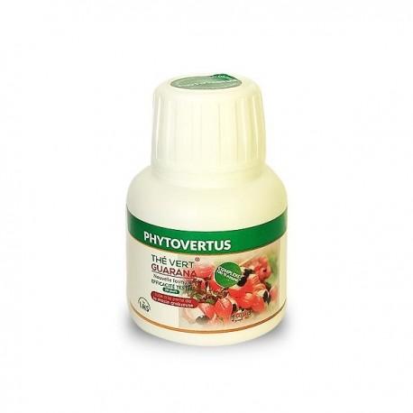 Brûle-graisse thé vert et guarana Phytovertus, boite de 60 gélules