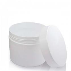 Pot pour Crème, Blanc avec Couvercle - 110G