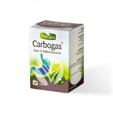 Carbogas, Boite de 30 gélules – Thérapia
