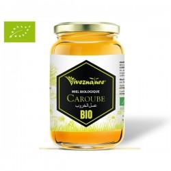 Miel Pur de Caroube certifié BIO, 500g - VivezNature