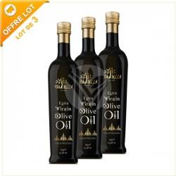 Huile d'Olive Extra Vierge de Tunisie , Lot de 3x75cl - TERRA BELLA