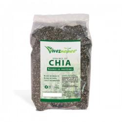 Graines de Chia, paquet 250g - VivezNature