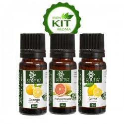 Kit Aroma, Agrumes - Aroma Végétal
