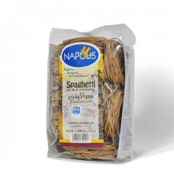 Spaghetti N°1 au blé intégral 400g - Napolis