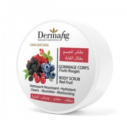 Gommage Corps aux Fruits Rouges - Dermafig