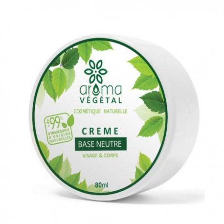 Crème Base Neutre, 80g - Aroma Végétal