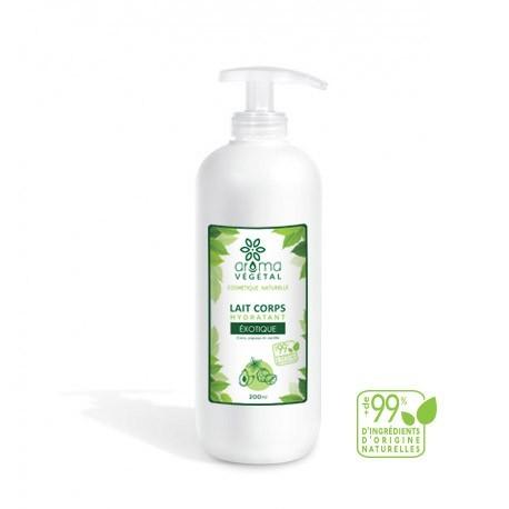 Lait Corps Hydratant Exotique, 200ml - Aroma Végétal