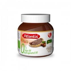 Chocolat à Tartiner Noisette sans huiles de palme Atlantis, pot de 300g
