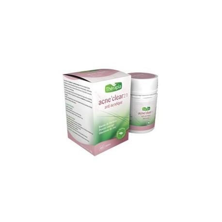 Acne'Clear-zn, Anti-acné, 60 gélules - Thérapia