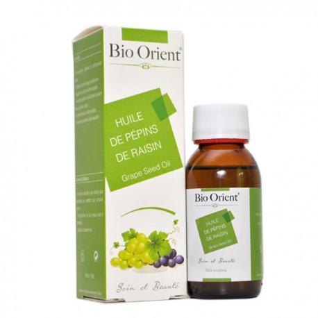 Huile végétale de pépins de raisin 90ml - Bio Orient