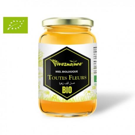 Miel Toutes Fleurs BIO, 500g - Vivez Nature