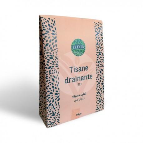 Tisane Drainante BIO, 50g - Elixir BIO
