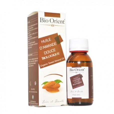 Huile végétale d'amande douce BIO 90ml - Bio Orient