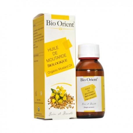 Huile Végétale de Moutarde BIO, 90ml - Bio Orient