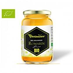 Miel Pur de Romarin certifié BIO, 500g - VivezNature