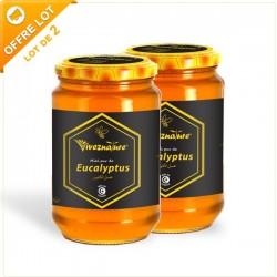 Miel d'Eucalyptus 2x500g - VivezNature