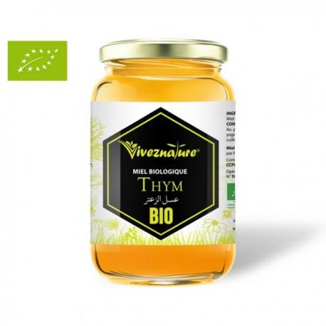 Miel Pur de Thym certifié BIO, 500g - VivezNature