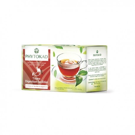 Infusion Digestive, Paquet 20 sachets - PhytoKad