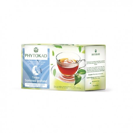 Infusion sommeil profond, Paquet 20 sachets - PhytoKad