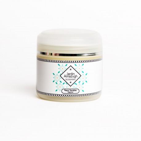 Déodorant Crème peaux sensibles, 40g - Jardin Amazigh