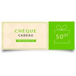 Chèque Cadeau d'une valeur de 50 Dinars - VivezNature