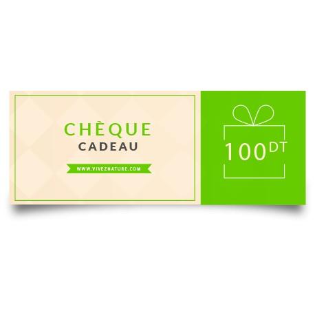 Chèque Cadeau d'une valeur de 100DT-VivezNature