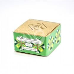Galet Argile Verte et Huile Essentielle Tea Tree & Lavande, 50g - Jardin Amazigh