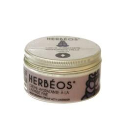 Crème Hydratante à la Lavande Fine , 100ml - Herbéos