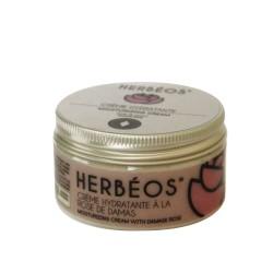 Crème Hydratante à la Rose de Damas, 50ml - Herbéos