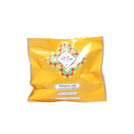 Shampoing Solide Aux plantes Ayurvediques, 50g - Jardin Amazygh