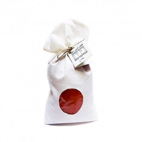 Piment rouge doux moulu, paquet de 500g , Mida