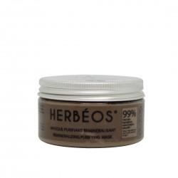 masque visage reminéralisant, 120g - Herbéos