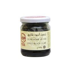 Olives Noires séchées à l'Huile d'Olive, 160g - Mida