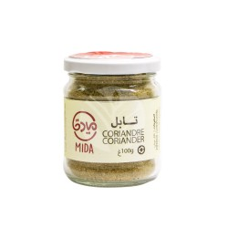 Coriandre Moulue, 100g - Mida