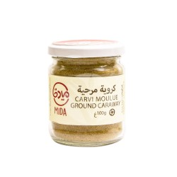 Carvi moulu de Tunisie en pot, Mida