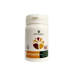 Gélules Curcuma, Boite de 60 gélules - PhytoKad