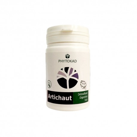 Gélules Artichaut, Boite 60 gélules - PhytoKad
