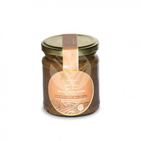 Beurre d'Amandes Sans Sucre Ajouté, 200g - Bio Terroir
