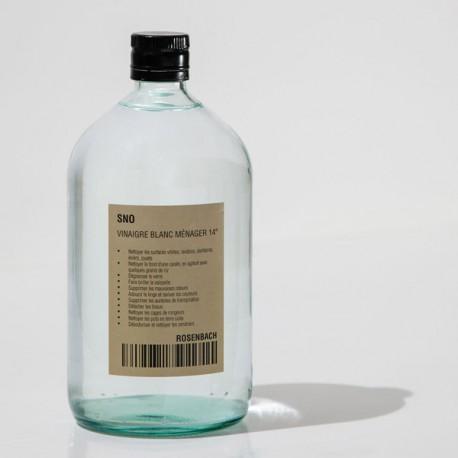 Vinaigre Blanc Ménager 14°, 1L - SNO