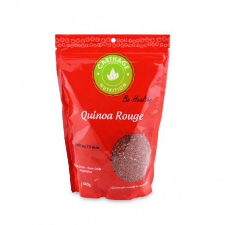 Quinoa rouge, Paquet de 340g - Carthage Nutrition