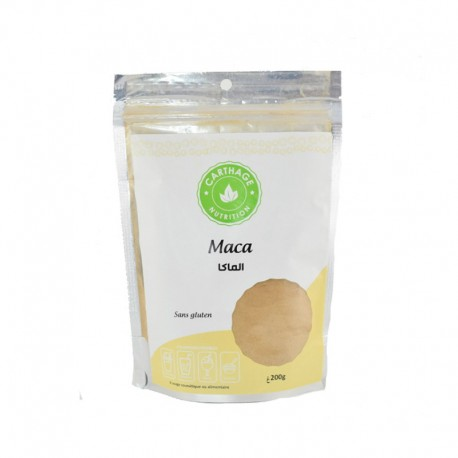 Maca, Paquet de 200g - Carthage Nutrition