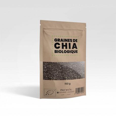 Graines de Chia Biologiques, 150g