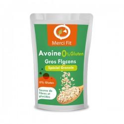 Avoine Gros Flocon Sans Gluten, 180g - Merci Fit