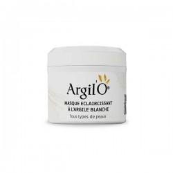 Masque Visage Eclaircissant à l'Argile Blanche, 130g - Argil'O