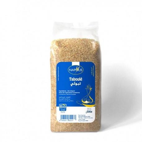 Taboulé au blé intégral BIO 500g - Napolis