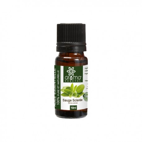 Huile Essentielle de Sauge Sclarée, 10ml - Aroma Végétal