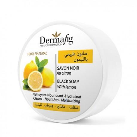 Savon Noir au Citron - Dermafig