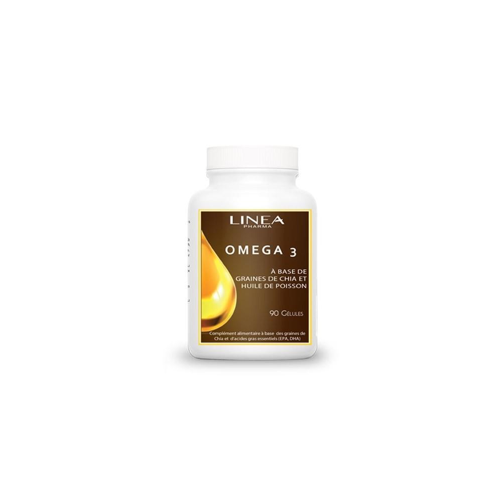 Produit Contre L Humidité Tunisie omega 3, boite de 90 gélules - linéa