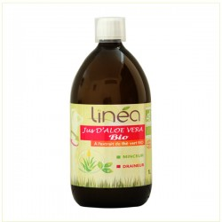 Gel d'Aloé Vera à l'extrait de Thè vert Bio 1 L - Linéa