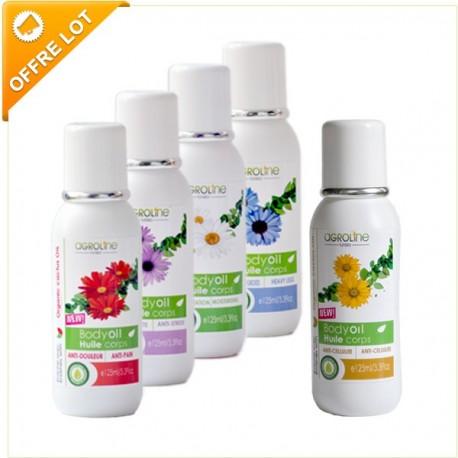 Pack Massage (5 Huiles), 5x125ml- Tunisia-Agroline